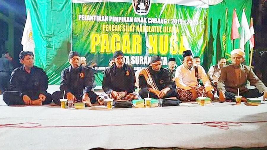 Pelantikan Pengurus Pagar Nusa di Solo Diselingi Sesi Dialog dengan Jin