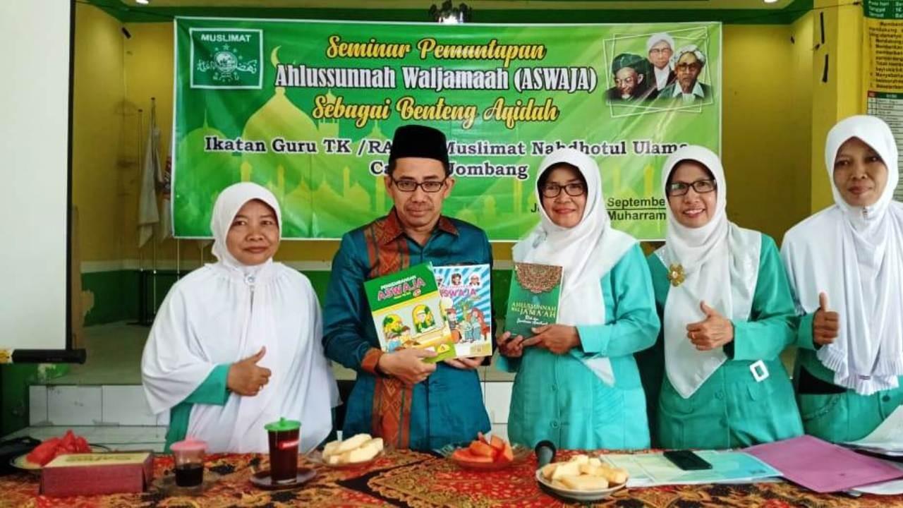 Muslimat NU Jombang Terbitkan Buku Aswaja untuk TK