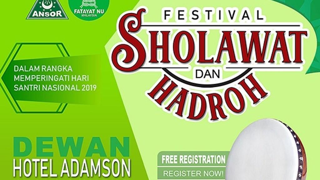 Hari Santri, NU di Malaysia Gelar Festival Shalawat dan Hadrah