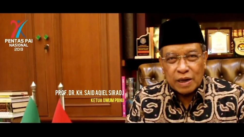 Ketum PBNU Berharap Pentas PAI Kemenag Bawa Misi Islam Ramah