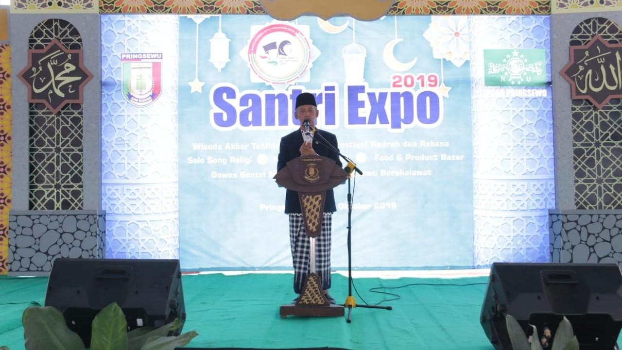 Bupati Pringsewu Buka Santri Expo 2019 dalam Rangka Hari Santri