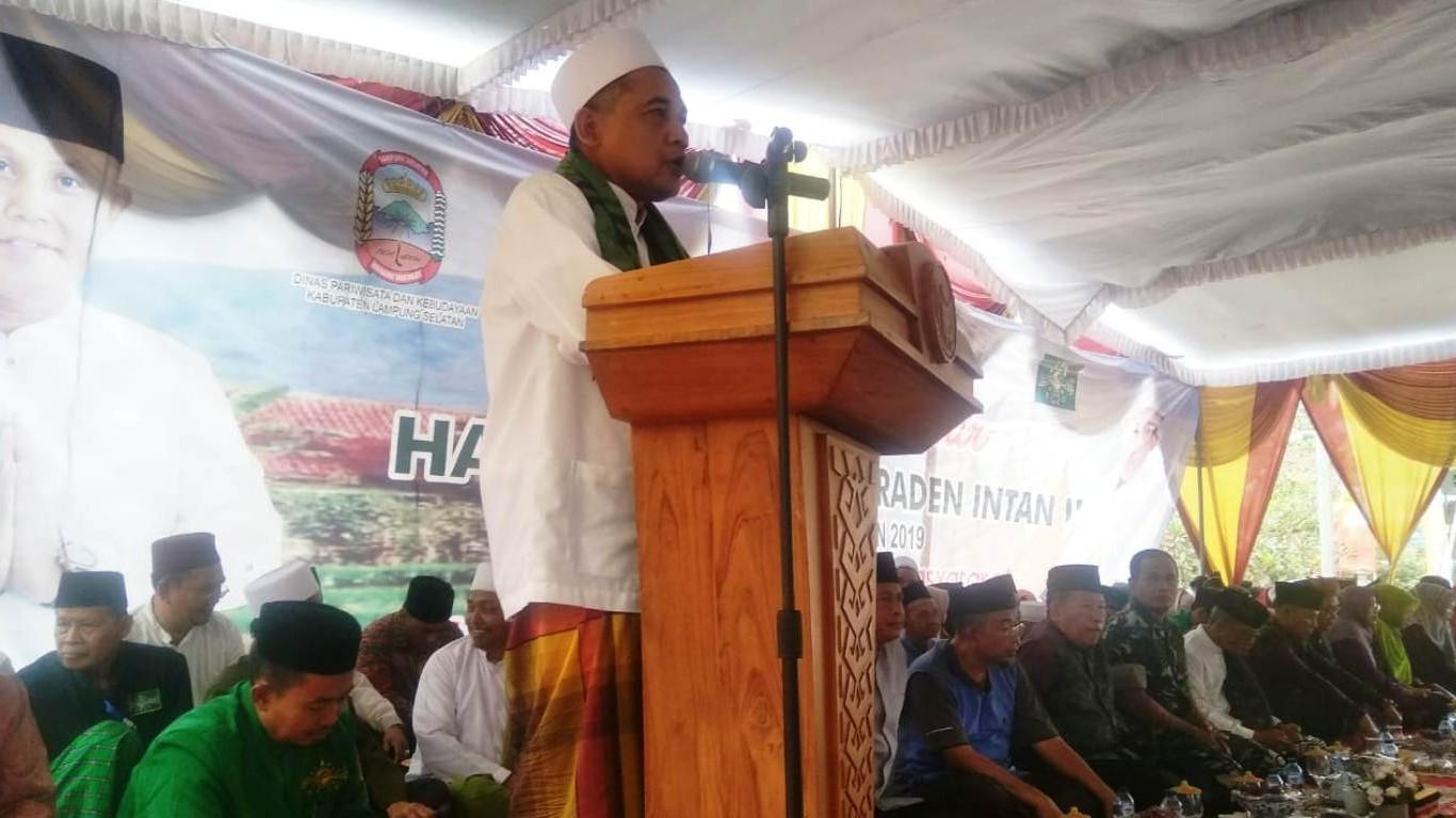 NU Lampung Selatan Gelar Sejuta Dzikir untuk Pahlawan Raden Intan
