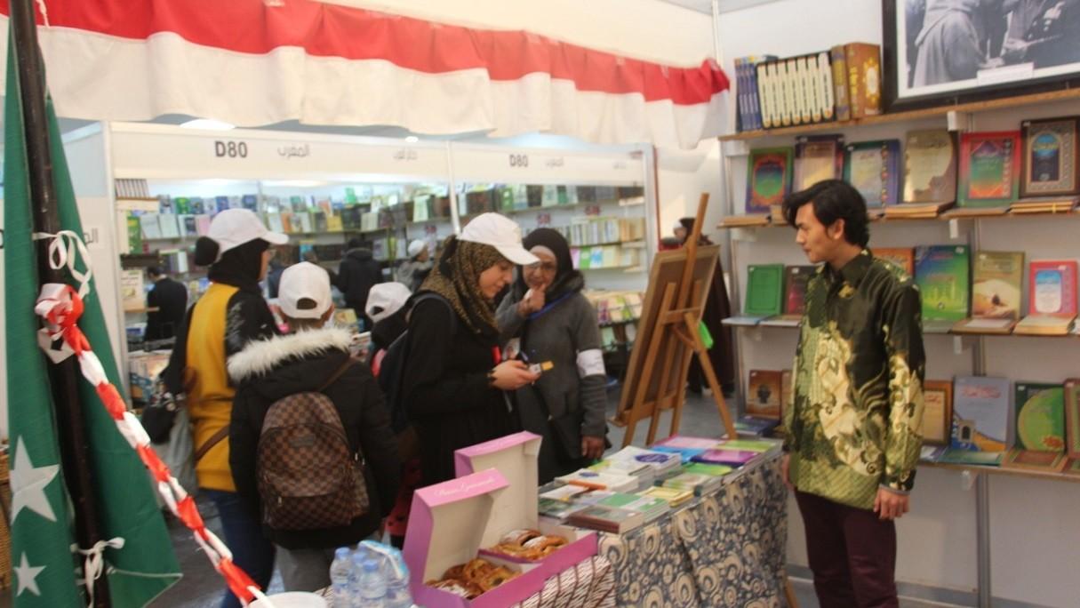 Tahun Ketiga, PCINU Kenalkan Karya Ulama Nusantara di Pameran Kitab Akbar Maroko