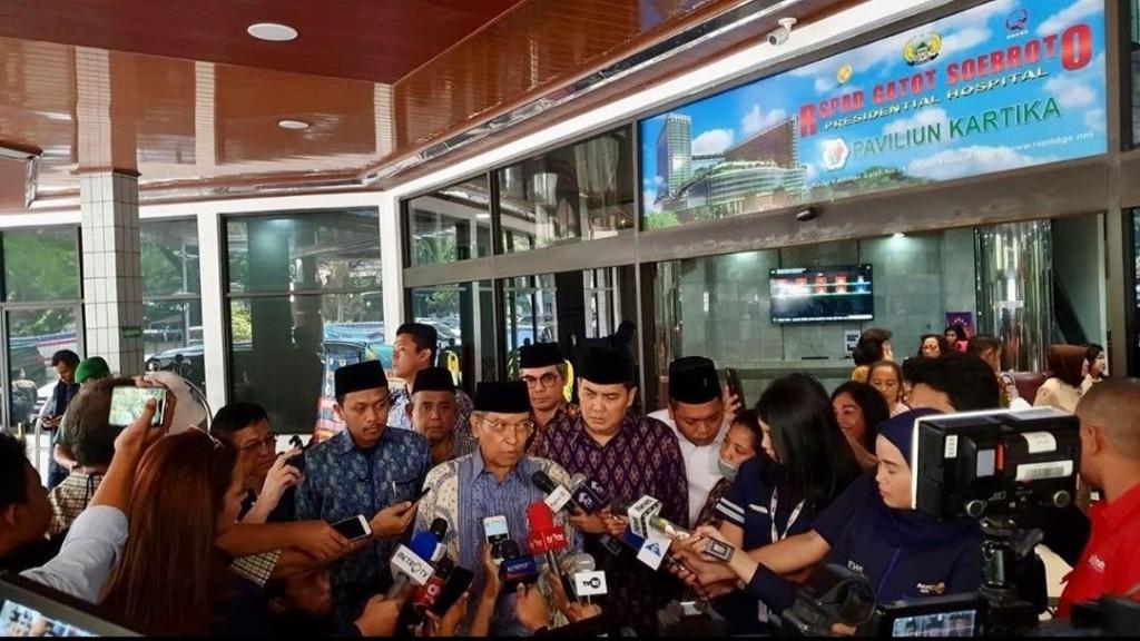 Dijenguk Kiai Said, Ini Pesan Wiranto untuk NU
