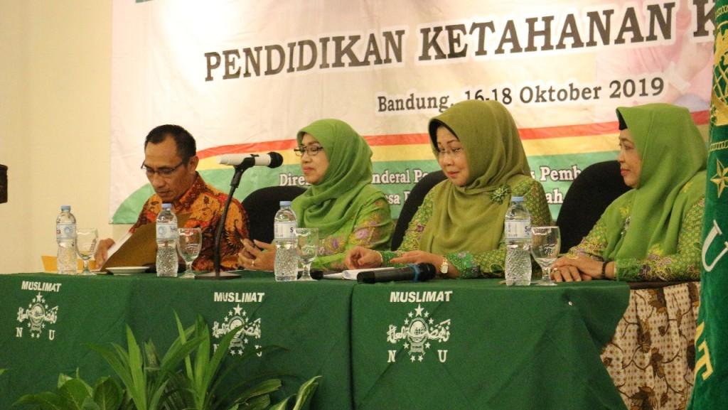 Muslimat NU Lakukan Fasilitasi Pendidikan Ketahanan Keluarga