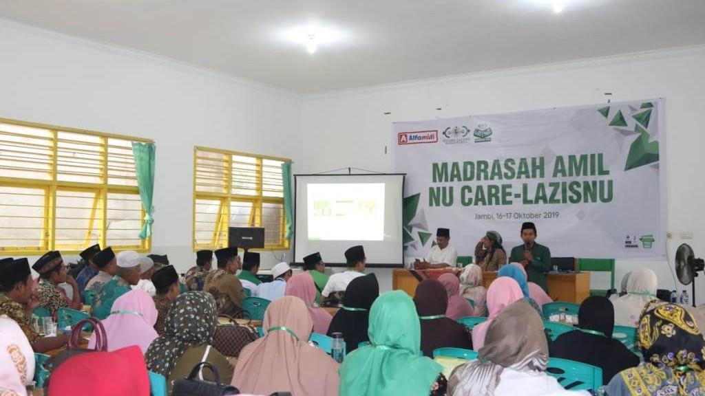 Usai Madrasah Amil, LAZISNU Muaro Jambi Siap Bangun Manajemen ZIS Profesional