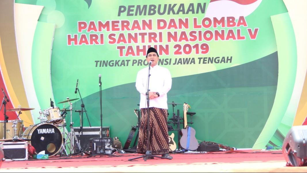 Peringatan Hari Santri di Rembang Dimulai dengan Pameran UKM dan Lomba