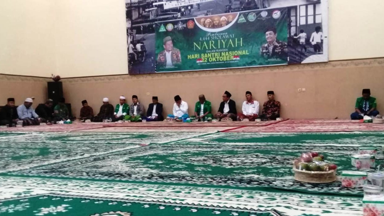Ansor Kalbar Kawal Gerakan Pembacaan 4.444 Shalawat Nariyah