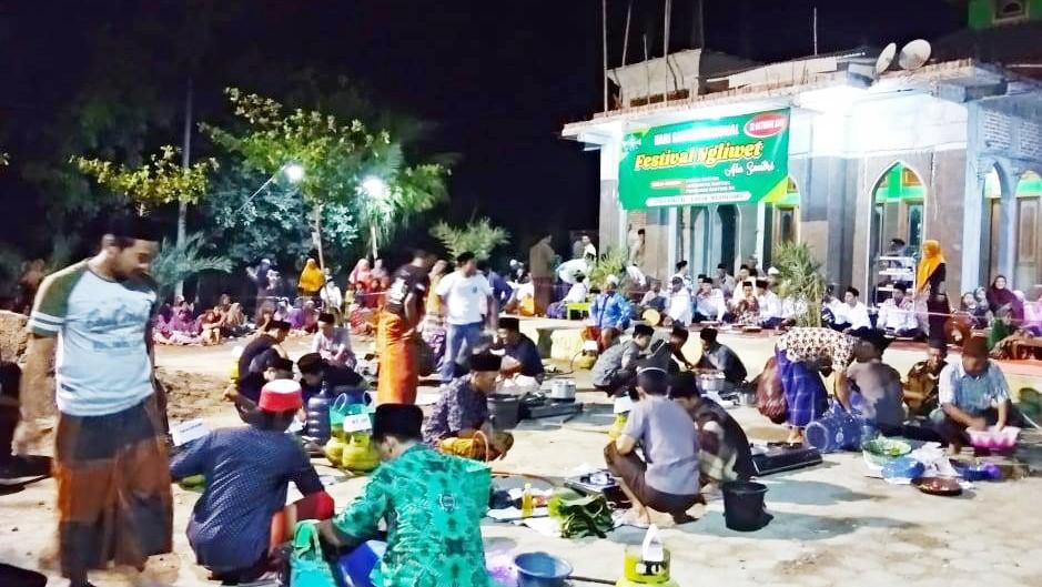 Liwetan Lestarikan Budaya Santri di Hari Santri