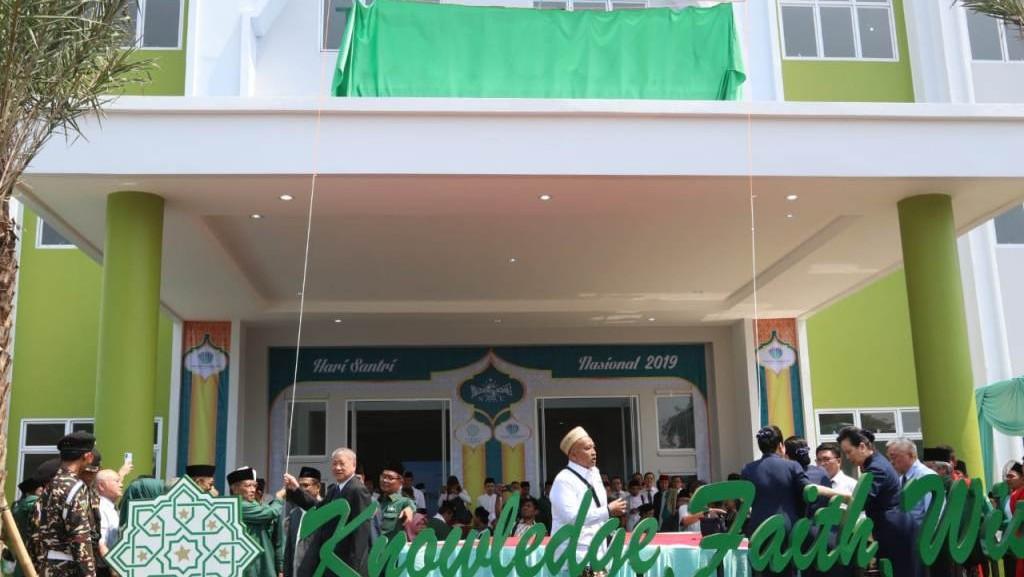 Ketum PBNU Resmikan Gedung Perkuliahan Baru Unusia di Bogor