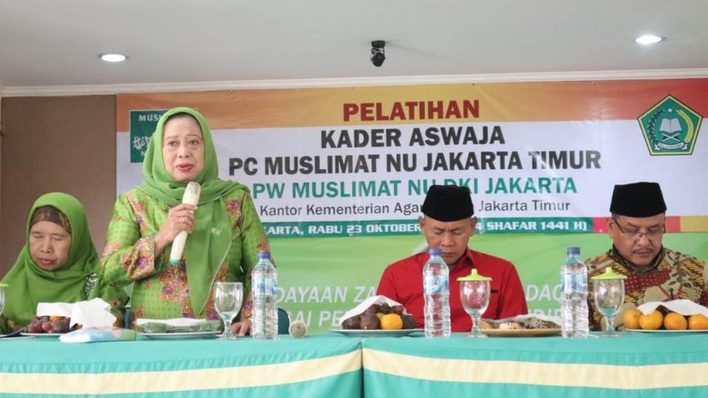 Cara Muslimat NU Jakarta Bantu Pemerintah Wujudkan Indonesia Maju