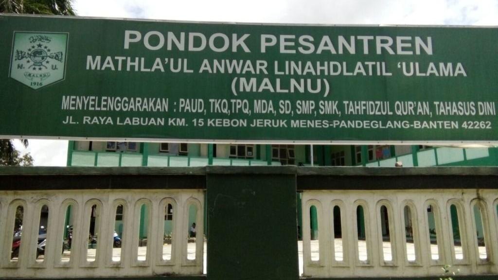 Sejarah Berdirinya Mathla'ul Anwar Linahdlatil Ulama di Banten
