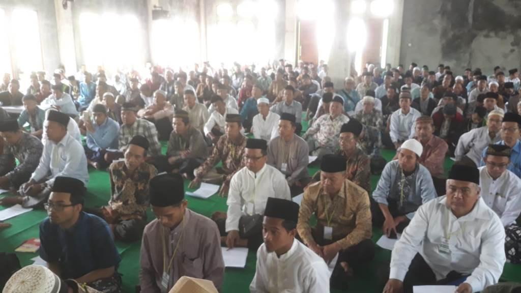 Imam Mushala Brebes Selatan Ikuti Pelatihan Khutbah