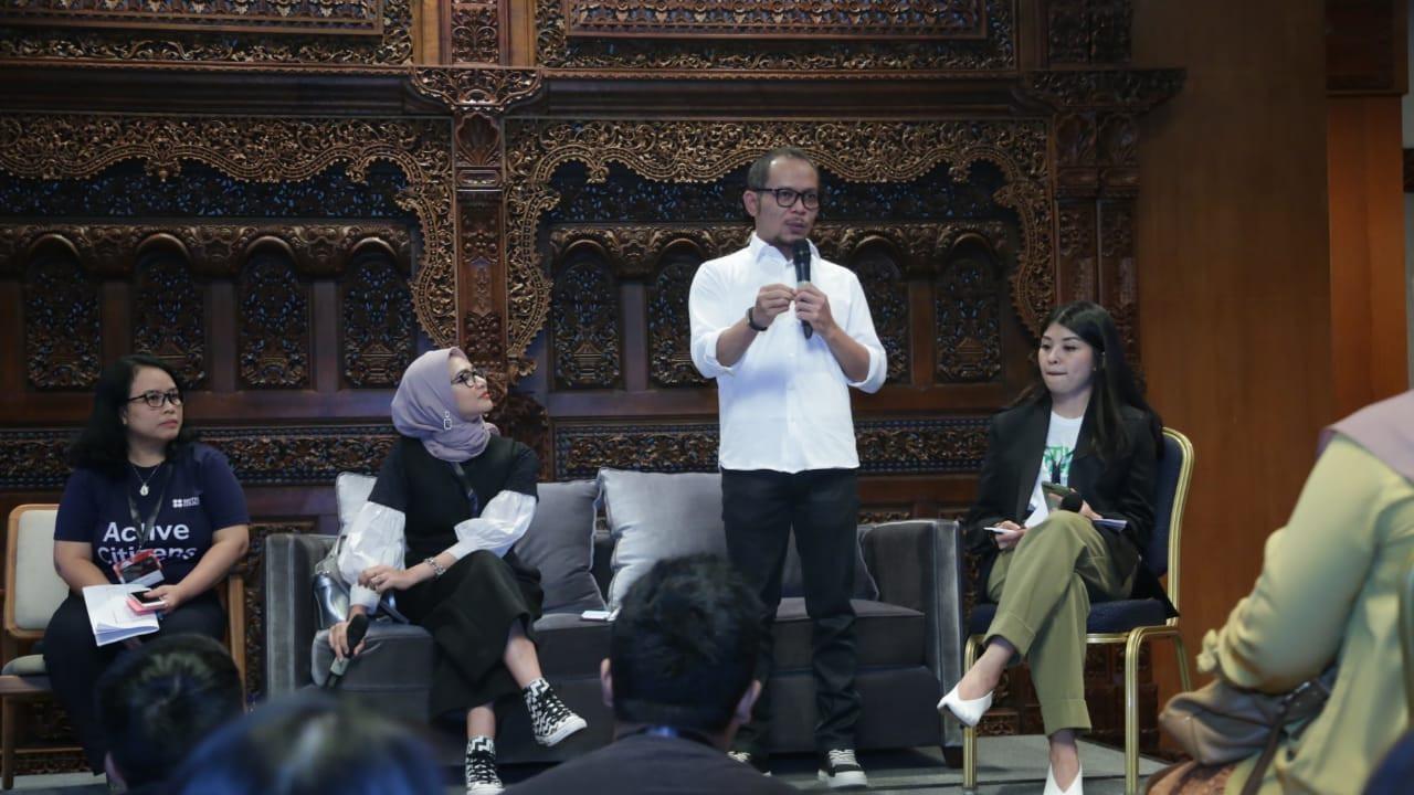 Langkah Milenial Gelar Ideafest 2019 Dapat Apresiasi Menaker Hanif