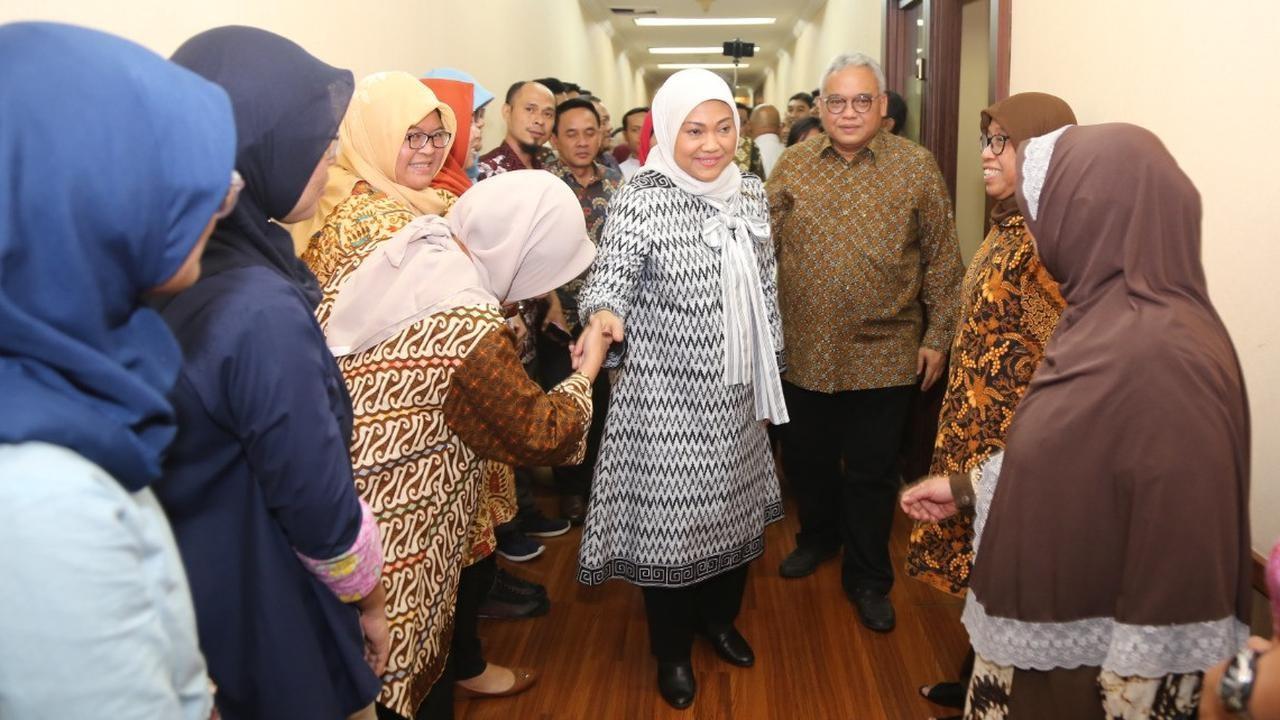 Pesan Menteri Ida ke Pegawai: Semangat Bekerja dan Siap Layani Rakyat