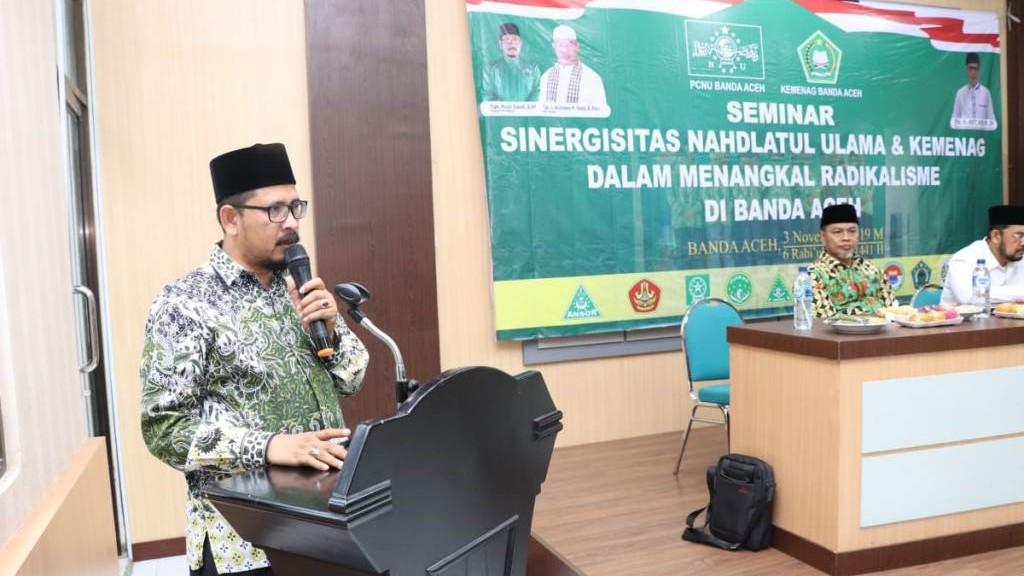 PCNU Banda Aceh Bahas Salah Paham Istilah Radikalisme