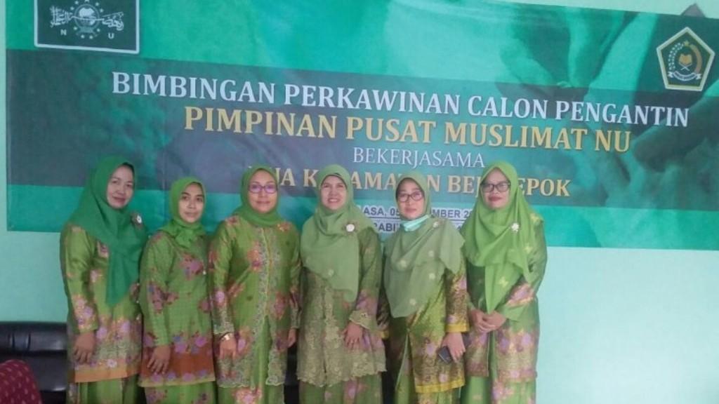 Muslimat NU Lakukan Bimbingan Perkawinan bagi Catin di Depok