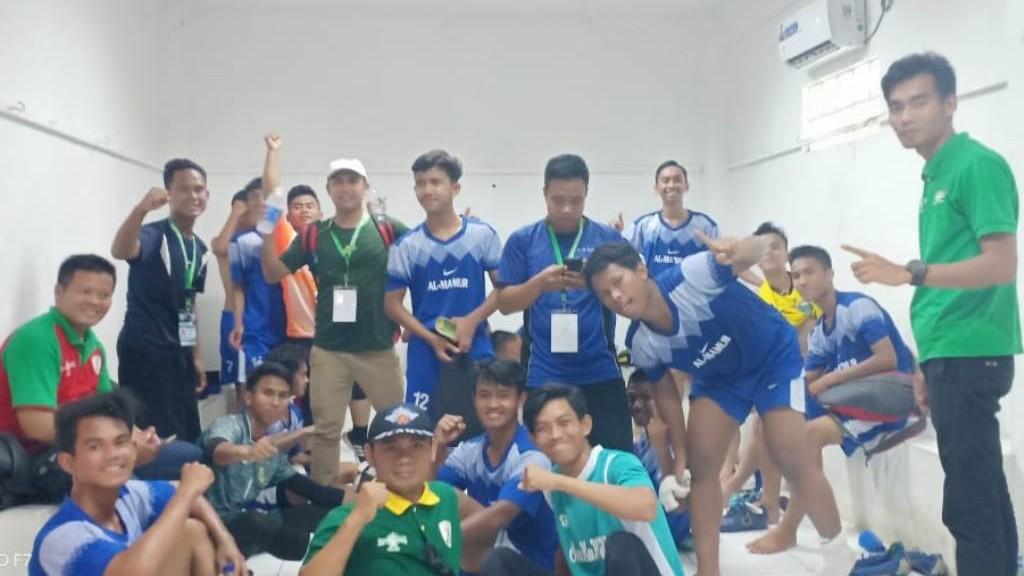 Pesantren Al-Ma'mur Tangerang, Finalis Kompetisi Sepak Bola Liga Santri 2019