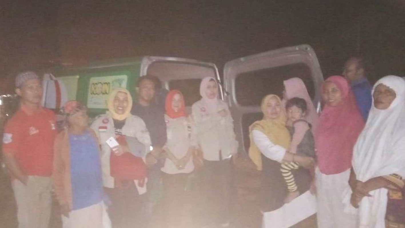 Ambulans LAZISNU Pringsewu Kirim Pasien ke RSPAD Jakarta