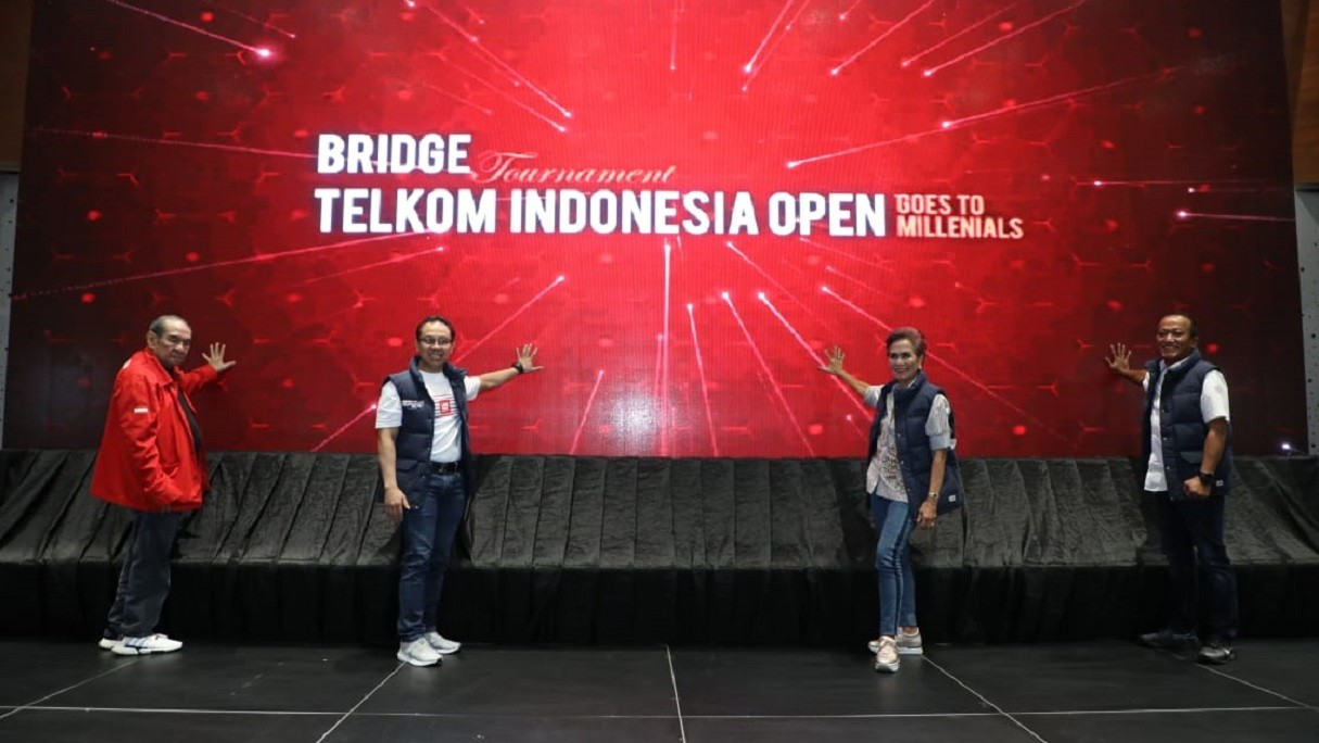 Telkom Group Kembali Gelar Turnamen Bridge 'Telkom Indonesia Open 2019'