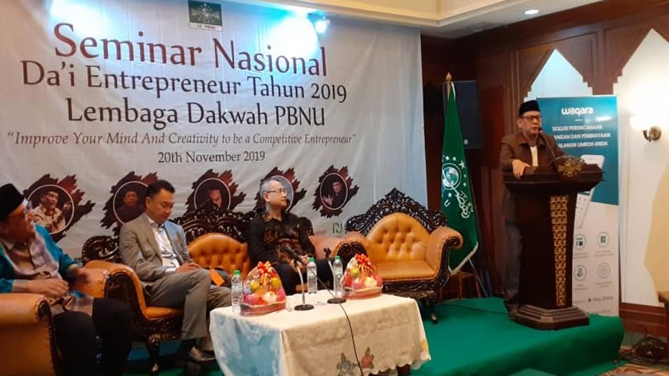 Lembaga Dakwah PBNU Gelar Seminar Entrepreneur bagi Dai