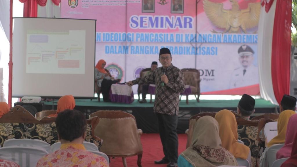 Menguatkan Moderasi di Kalangan Akademisi di Ngawi
