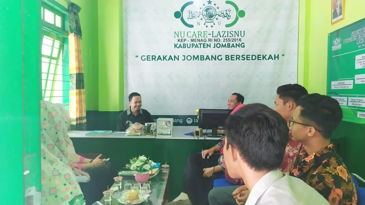 Pesantren Roudlotul Huda Belajar Pengelolaan ZIS ke LAZISNU Jombang