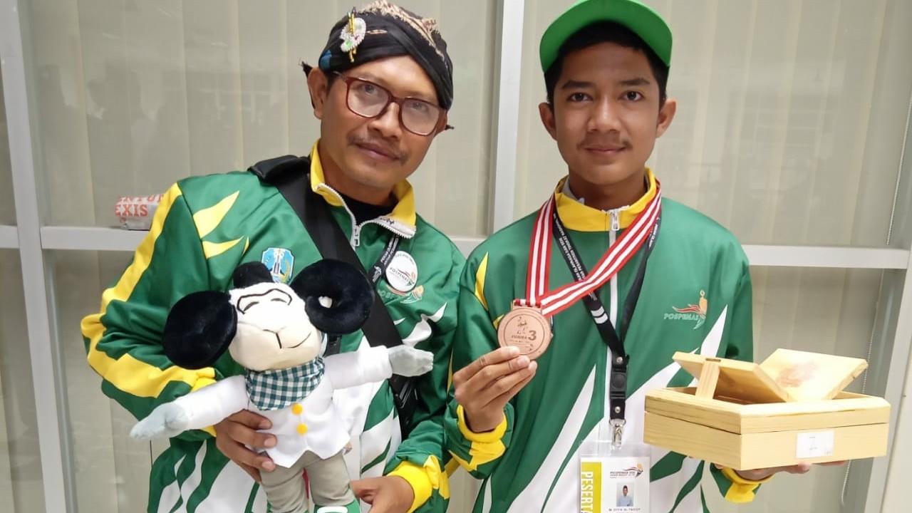 Harumkan Jawa Timur, Santri Bahrul Ulum Raih 2 Emas dalam Pospenas