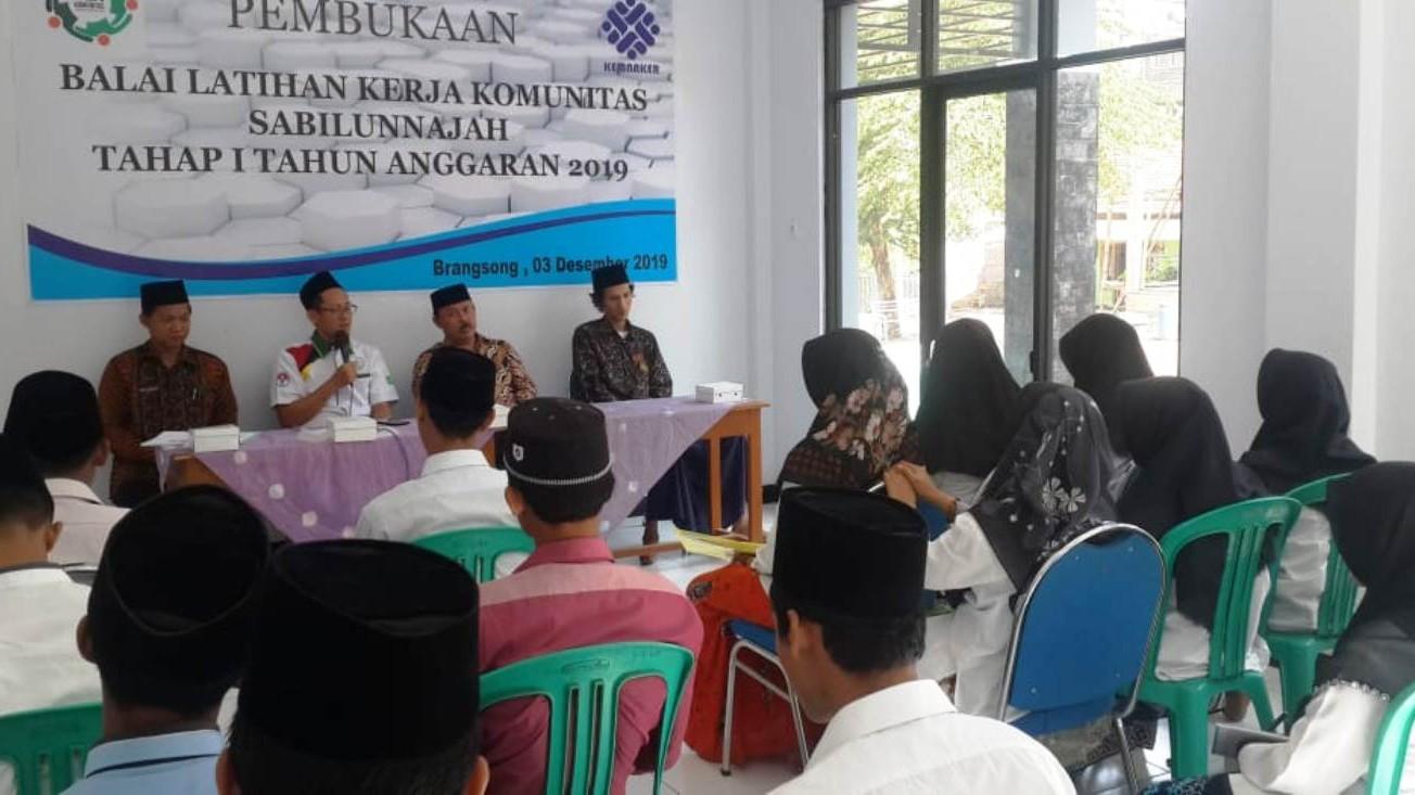 Pesantren Sabilunnajah Brangsong, Kendal Resmikan BLK Komunitas