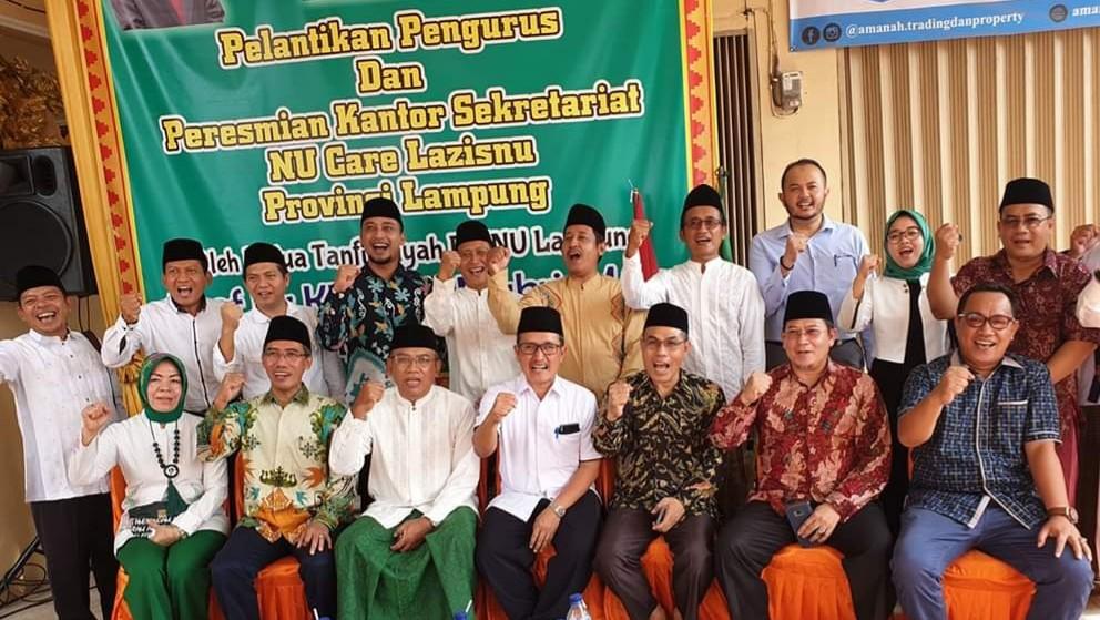 Resmi Dilantik, Inilah Sembilan Program Prioritas LAZISNU Lampung