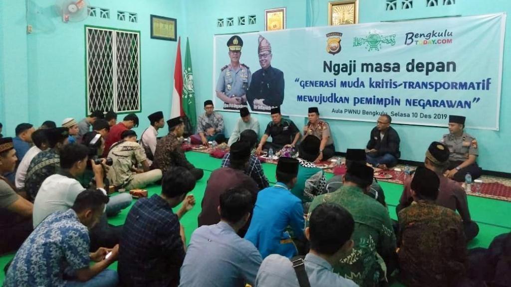 Pemuda NU Bengkulu Kaji Strategi Hadapi Masa Depan
