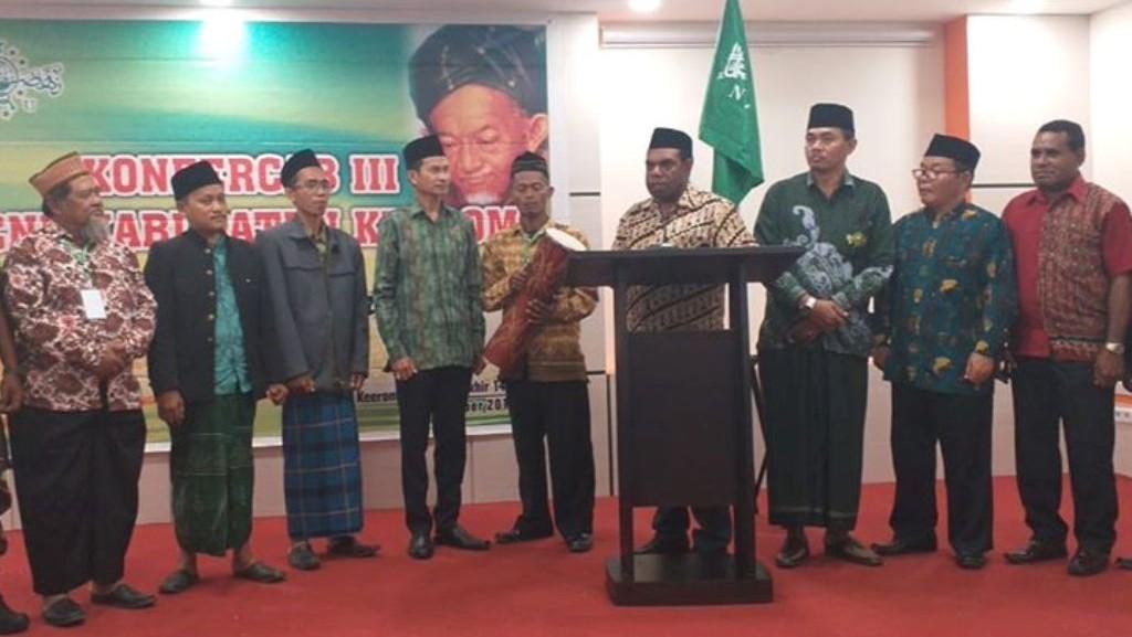 Wabup Keerom Papua Ajak PCNU Membangun Bersama