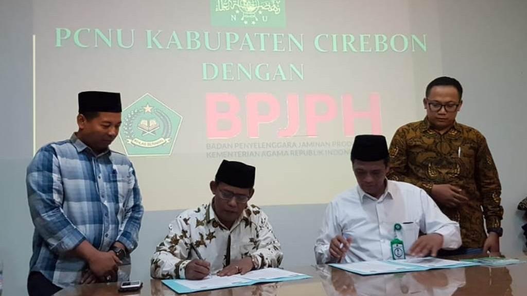 PCNU Cirebon Teken Kerja Sama dengan Badan Halal Kemenag