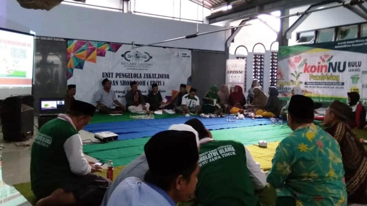 Ikhtiar MWCNU di Kabupaten Malang Gerakkan Koin NU