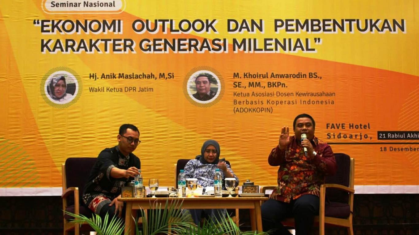 Anak Muda Harus Hadir sebagai Penentu Kebijakan Ekonomi