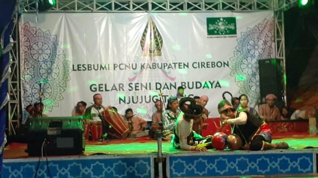 'Njujug Tajug' di Cirebon Pentaskan Kesenian yang Hampir Punah