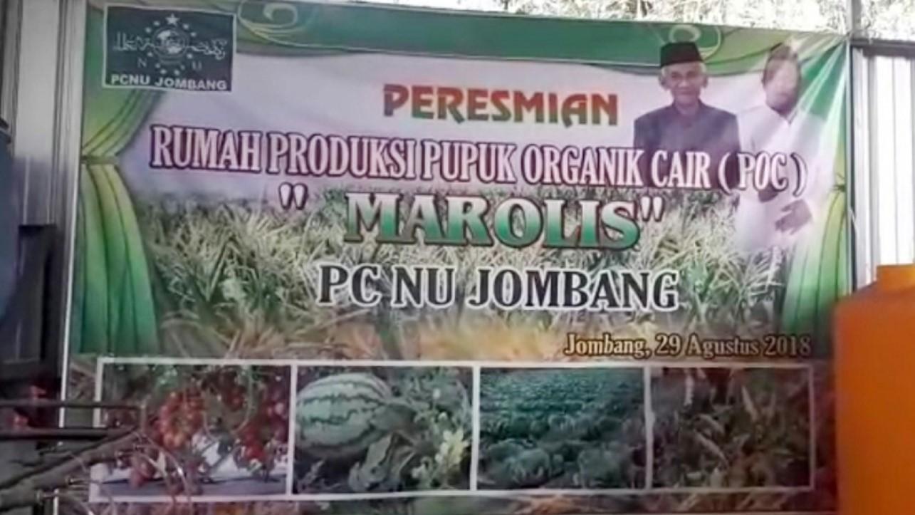 PCNU Jombang Ajak Petani Nahdliyin Manfaatkan Pupuk Buatan NU