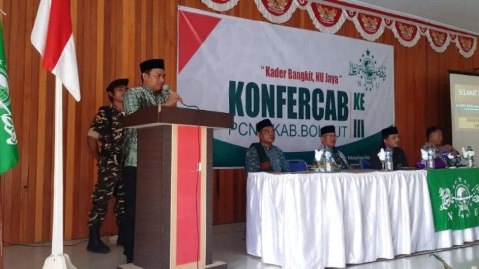 Supriadi Goma Kembali Pimpin PCNU Bolaang Mongondow Utara