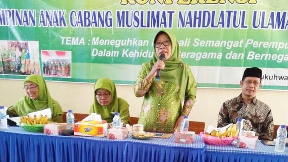 Bupati Tegal Minta Pengurus Muslimat Terpilih Bisa Jaga Amanah