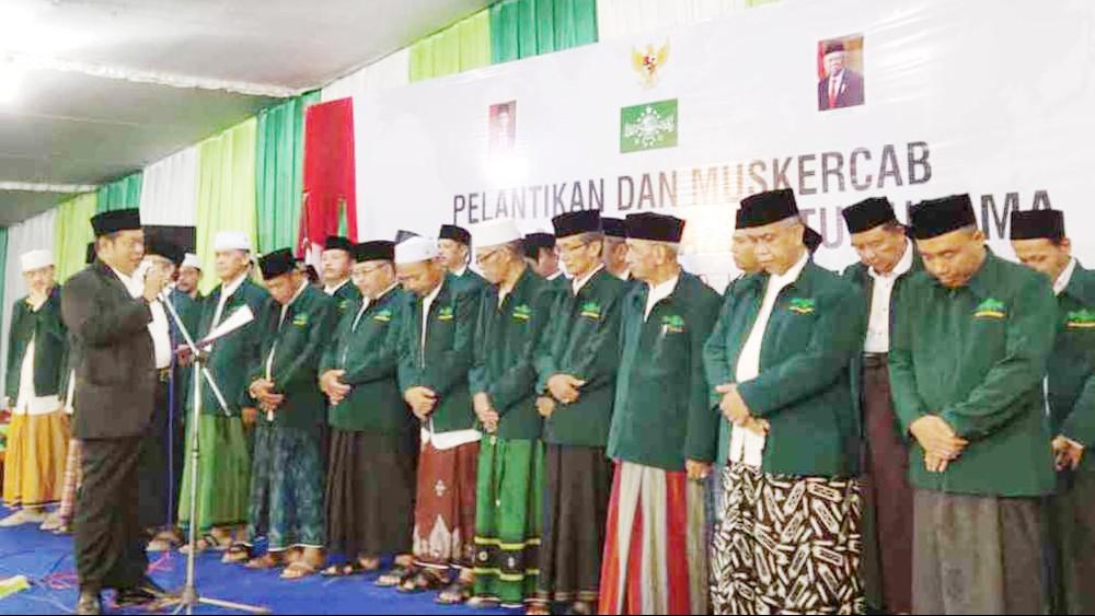 Resmi Dilantik, NU Purworejo Optimalkan Peran Lembaga dan Banom
