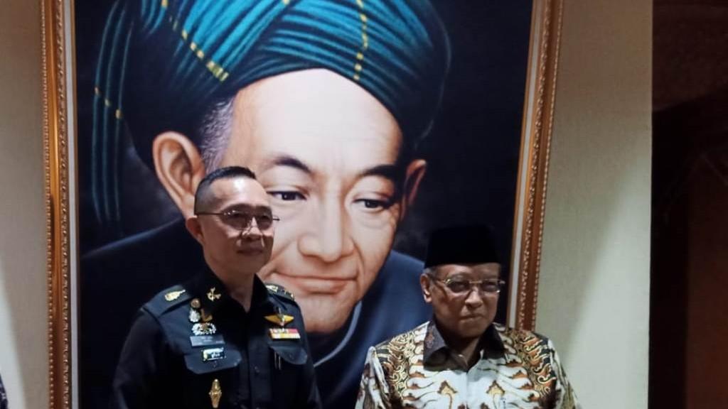 Jenderal Thailand Merasa Segar Dengar Pandangan KH Said Aqil Siroj