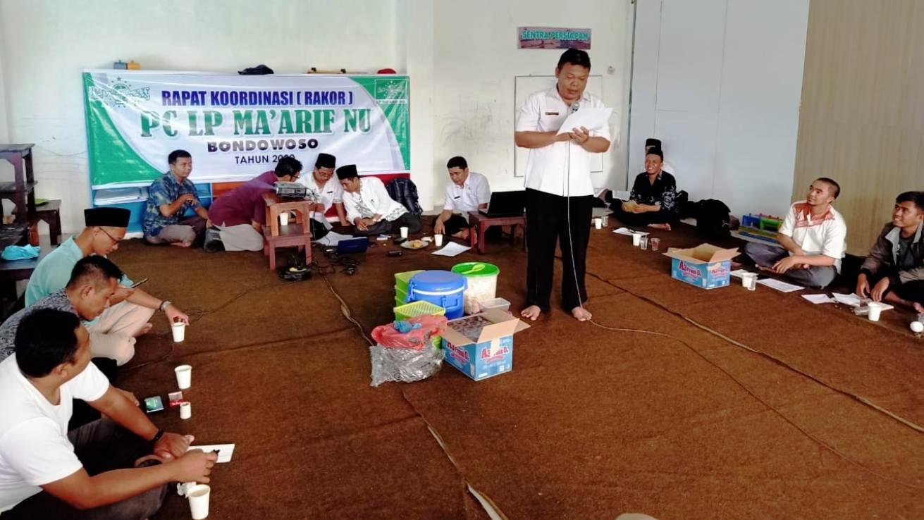 Lembaga di Bawah Ma'arif NU di Bondowoso Hendaknya Perkuat Sinergi