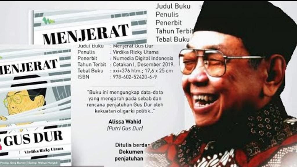 Ini Jadwal Roadshow Bedah Buku 'Menjerat Gus Dur' di Berbagai Daerah