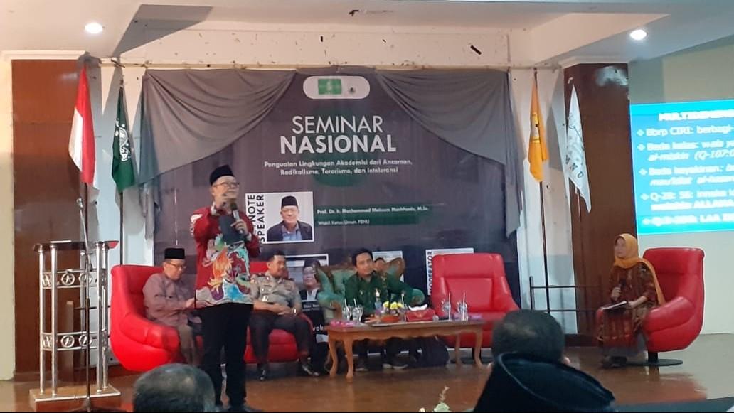 Seminar Nasional Radikalisme Awali Munas VI KMNU di Purwokerto