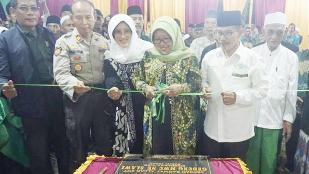 Gerakan Seribu Rupiah MWCNU Slawi Tegal Bangun Gedung