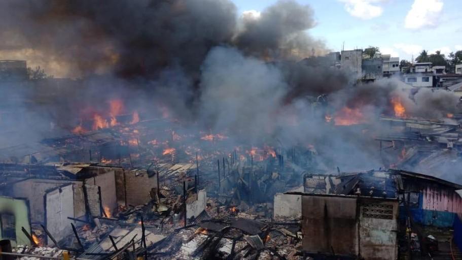 Kebakaran di Pasar Batu Kota Tarakan, LAZISNU Salurkan Bantuan