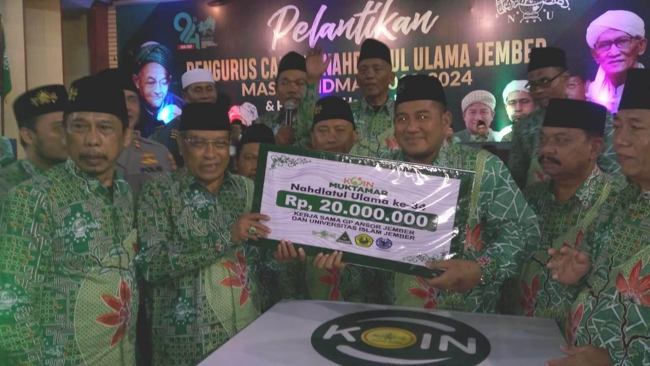 Koin Muktamar NU Jember Diluncurkan, Rp31 juta Terkumpul
