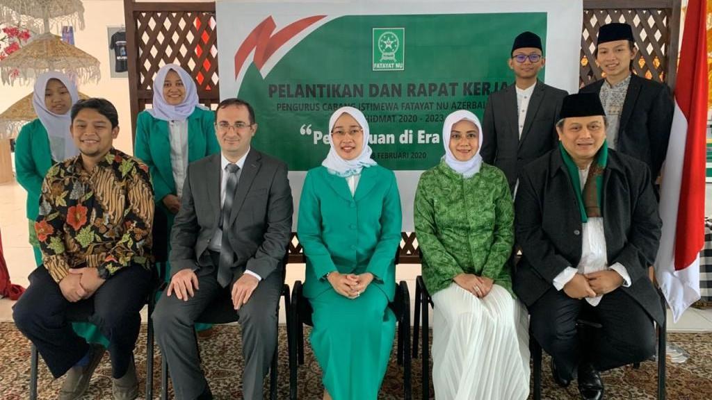 Fatayat NU Organisasi Islam Pertama Berdiri di Negara Azerbaijan