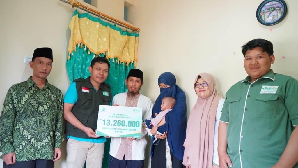 Bayi Berpenyakit Usus di Bekasi Mulai Pulih berkat Bantuan LAZISNU