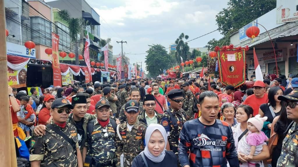 Banser Kota Sukabumi Ikut Amankan Perayaan Cap Go Meh